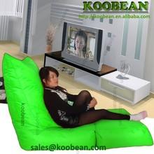 2015 cube foldable beanbag bed,bean bag chair,bean bag sofa,Lime waterproof long folding bean bag , foldable beanbag lounger