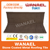 Shingle Wanael stone coated metal roof sheet/roof building material price/zinc roof sheet price, guzhou china supplier