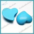 corazón corte de color azul turquesa en bruto sintético turquesa precio al por mayor