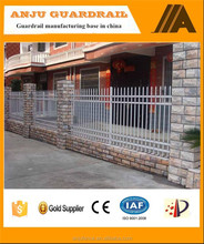 2015 Hot sale of decorative metal fence for garden for residential DK007