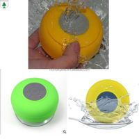 phone accessories Waterproof suction cup bluetooth speaker
