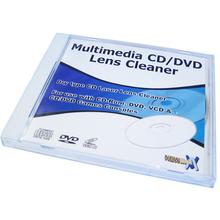 Multimedia Dry Type CD/DVD Lens Cleaner Disk