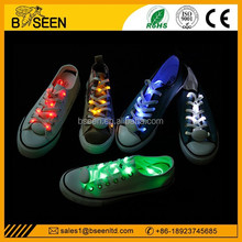 2015 new popular high quality colorful hot selling Led Lighting Shoelaces