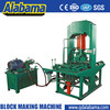 Large hydraulic pressure highest performance fully automatic concrete paver block machine
