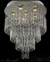 Luxury Europe Style Glass scrystal chandelier lighting for Hall