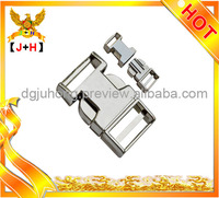 20mm metal buckles for bags safety lock,shiny metal buckle