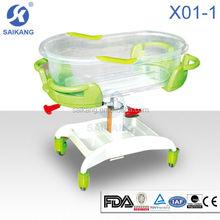 Backrest adjustable adult baby crib