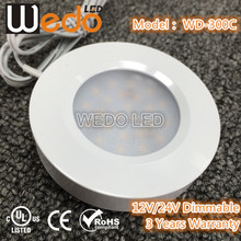 Surface Mounted /Recessed LED kitchen Cabinet / Puck / Cupbaord lighting with Touch Control