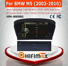 HIFIMAX mp3 player For BMW M5 Car DVD Player GPS Navigation System player Video