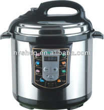 5L LED style practical electric pressure cooker hot selling