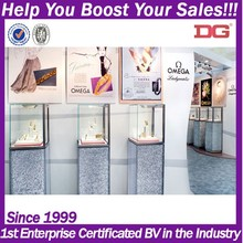 2015 modern decorations showcase and counter equipment for jewelry store