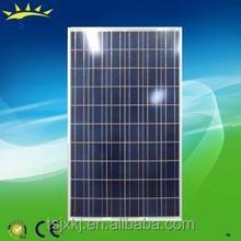 high effeciency fully certified for manufacturing solar panel 255watt poly solar module under low price per watt