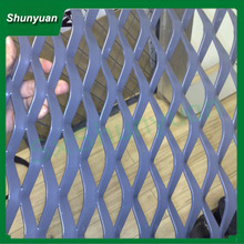 Factory shaanxi shunyuan 16*62mm low price high quality hexagon aluminum expanded metal mesh