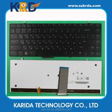 Black layout RU Russian notebook keyboard for Dell Studio XPS 1340 1640 1645 1647 laptop keyboard