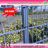 2014 hot sale double wire mesh fence (factory price)