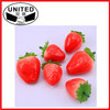 Mini artificial Strawberry faux fruit fake Strawberries food home decor