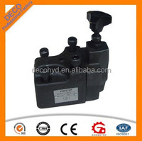 eletro hydraulic proportional overflow surge relief motorized valves