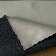 320gsm solid dyed 100D 4 way stretch bonded 180gsm polar fleece fabric polyester laminated fabric