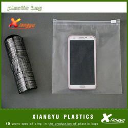 Cellphone storage bag waterproof slider bag