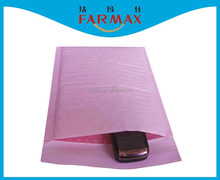 2015 Farmax colorful pink white brown kraft paper bubble padded envelopes mailer bag