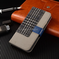 Top Seller OEM Wallt Flip Case For iPhone 6, Cell Phone Case With High end PU Leather for iPhone 6 Wallet Phone Case