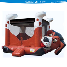 Fire truck inflatable bounce house for kids of size 4.5*4.5m with CE and good price