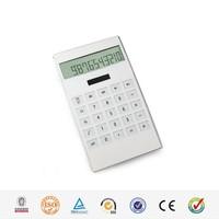 HaiRong 10 digit dual power desktop office flat calculator