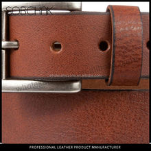 2015 high quality belt buckle 100% genuine leather belt leather belts thailand