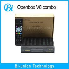 2015 universal decoder Openbox v8 combo DVB S2+Dcombo receiver with Internet Sharing dvb-s2 dvb-t2 dvb-t dvb-c v8 pro combo