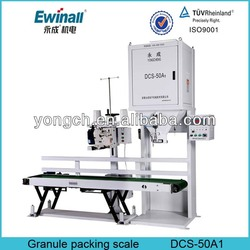 semi automatic intelligent grain packing machine with stiching machinery