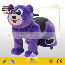 plush walking animal, coin operated animal rider for kids