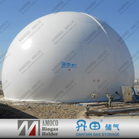 CE & ISO Certification Biogas Methane Gas Holder, Biogas For Sewage Tank