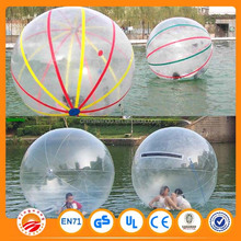 Top quality transparent / colorful water ball!!jumbo water ball,inflatable water ball,water walking ball