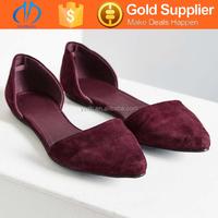 flat hot sale sale suede casual shoes