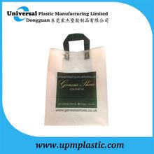 High quality flexo printing flexiloop handle bag for carrying