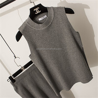 Lady's Newest Knitted Blouse Top sweater dress