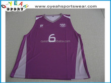 Custom sublimation Breathable Basketball Uniform/Jersey/shirts