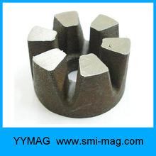 Cast Alnico magnet motor component