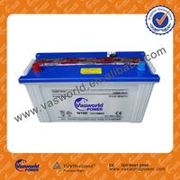 HOT! cheap wholesale price dry charged JIS Car Battery N100 100ah 12V Largestar