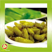 hot selling frozen green string chili / hot green long chili pepper