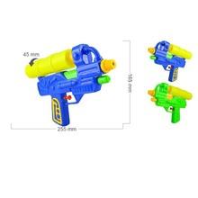venta caliente pistola de agua de color azul pistola ametralladora de doble boquilla de plástico pistola de agua