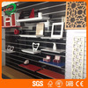 Grooved Melamine Slotted MDF WIth High Quality Slatwall Board