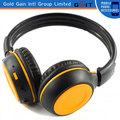 Precios de fábrica para auriculares inalámbricos Bluetooth con radio FM con logo personalizado , auriculares estéreo