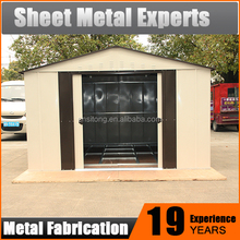 Quality China Exporter Cheap Storage Sheds Sale / Garden Sheds Metal Steel Prefab House