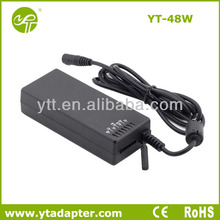 Battery charging 48w notebook manual adaptor with CE/Rohs certificate