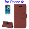 2015 most popular Horizontal Flip Wallet style Leather case cover for iPhone 6s