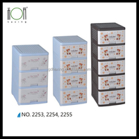 Cabinet Plastic Clothing Drawers for Kids