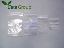 Plastic LDPE Reclosable Ziplock Bag