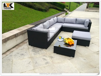 Modern Outdoor Rattan Selectional Sofa Furniture From China With Prices
