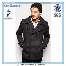 online shopping outdoor wear grey mens pea coat